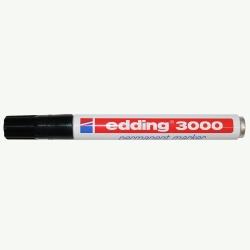Etikettenschreiber edding 3000, schwarz