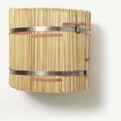 Bambus-Splitstäbe, gespitzt